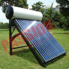 Indirect Loop Solar Power Hot Water System , Roof Mounted Solar Water Heater Pipes