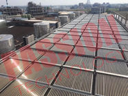 100 Tubes Evacuated Tube Collector , Solar Heat Collector For Large Heating Project