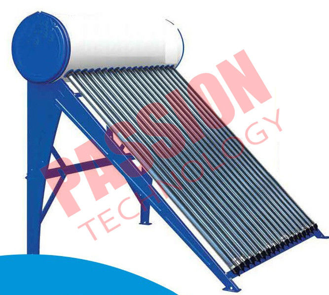 High Pressure Pre Heated Solar Water Heater Copper Coil Easy Maintenance