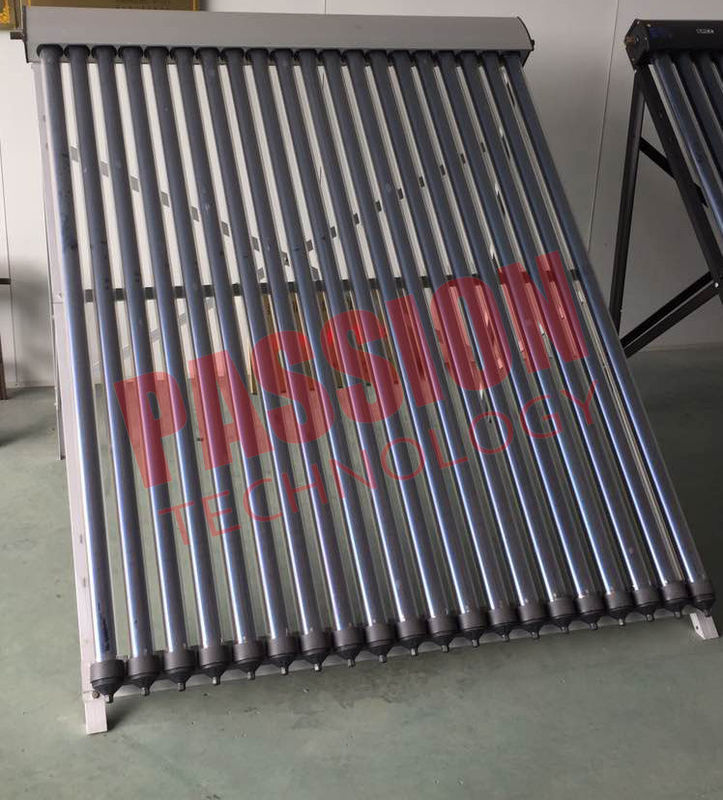 No Noise Heat Pipe Solar Collector 45 Degree Angle Frame For Hospital