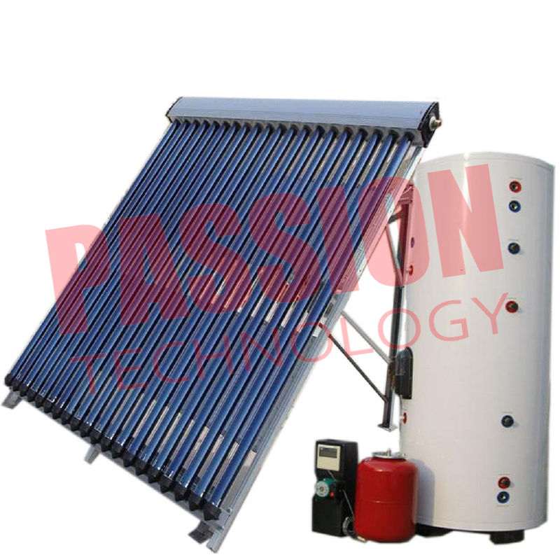 Open Loop Solar Water Heater 300 Liter For Sewage Purification Environmental Protection
