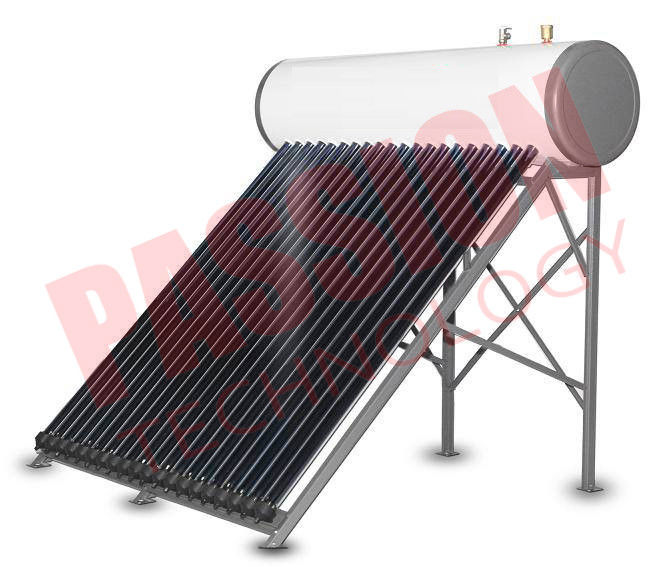 Closed Circulation Integrative Pressurized Heat Pipe Solar Water Heater For Home