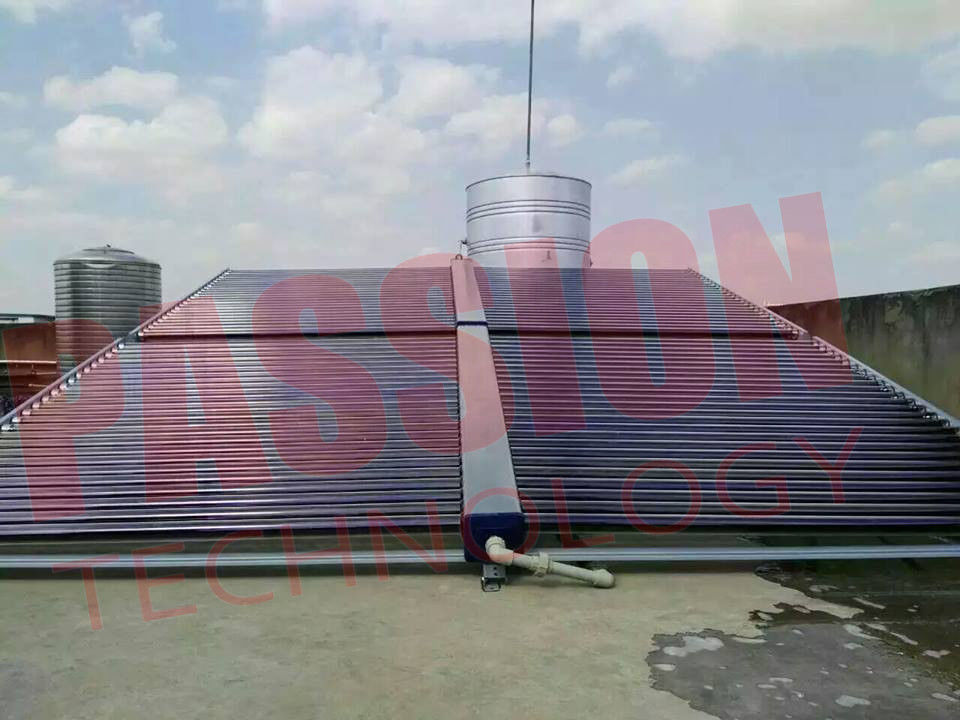 Solar Water Heater Vacuum Tube Solar Collector , Evacuated Tube Collector