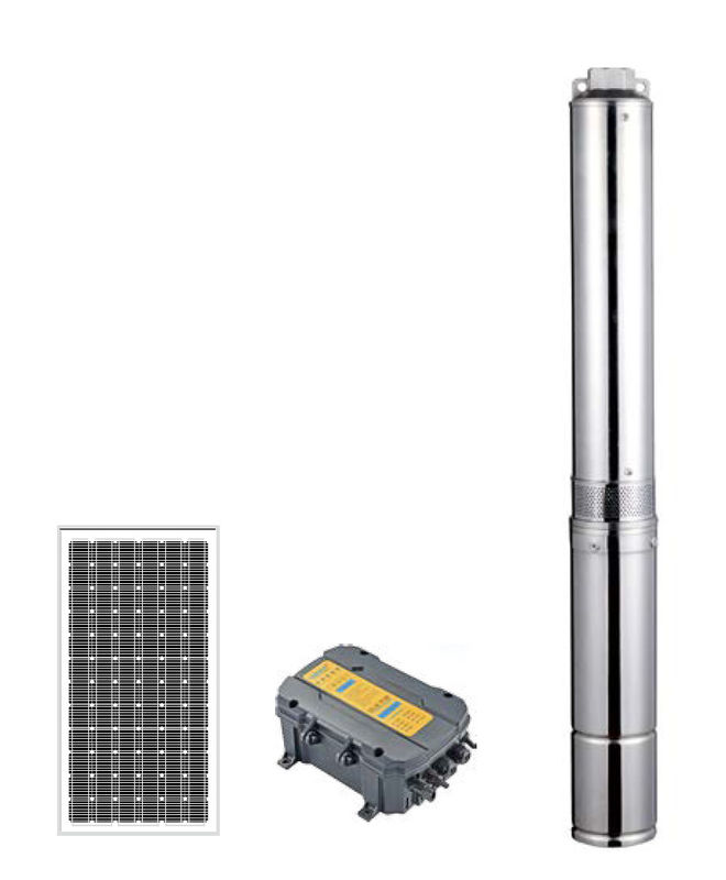 4LSC Series Solar Borewell Submersible Water Pump Enviromental Protection