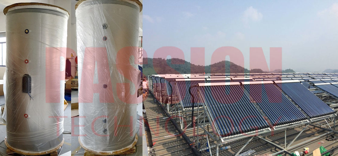 Split Pressurized Solar Water Heater Heat Pipe Collector For Large Capacity Solar Water Heating System For Hotel Resort